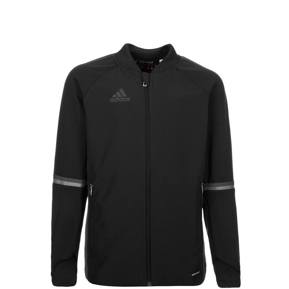 adidas Performance Condivo 16 Trainingsjacke Kinder in schwarz / grau