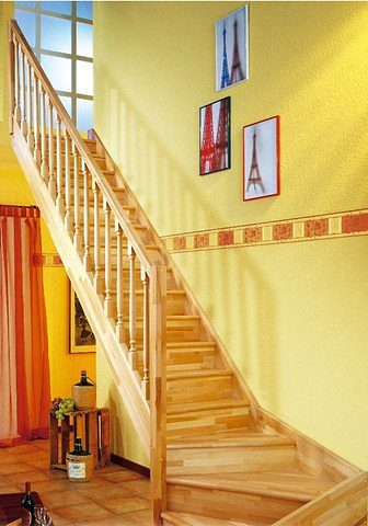 DOLLE Kompaktiški laiptai »Paris« Buche offe...