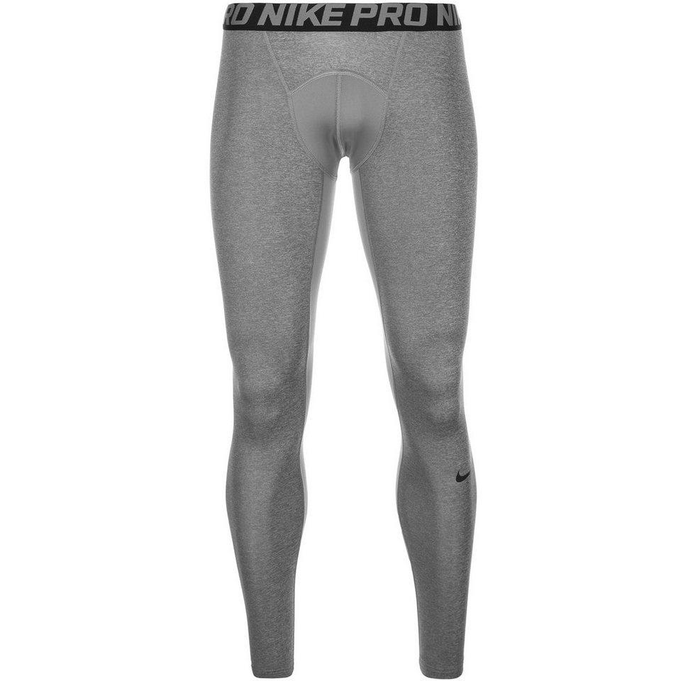 NIKE Pro Dry Compression Trainingstight Herren in grau / schwarz