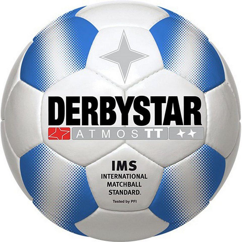 DERBYSTAR Atmos Pro TT Trainingsball in weiß / blau