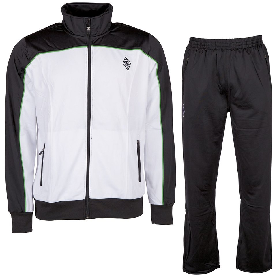 KAPPA Trainingsanzug »Borussia Mönchengladbach Trainingsanzug« in black