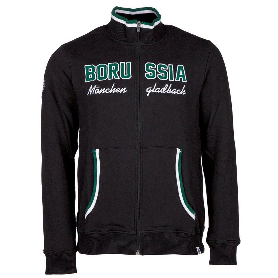 KAPPA Sweatjacke »Borussia Mönchengladbach Sweatjacke« in black