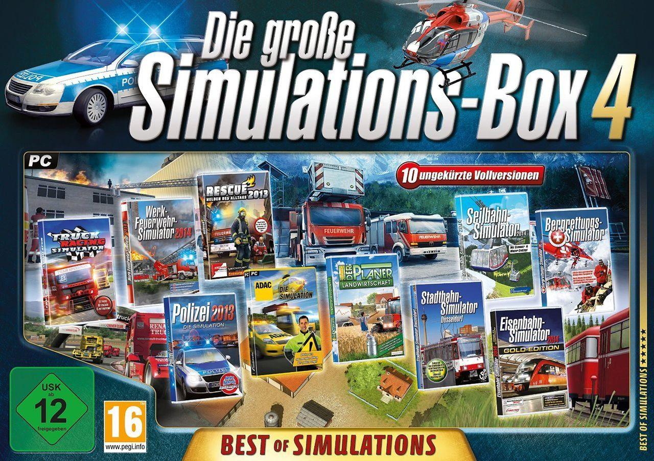 Astragon PC - Spiel »Die große Simulations-Box 4: Best of Simulations («