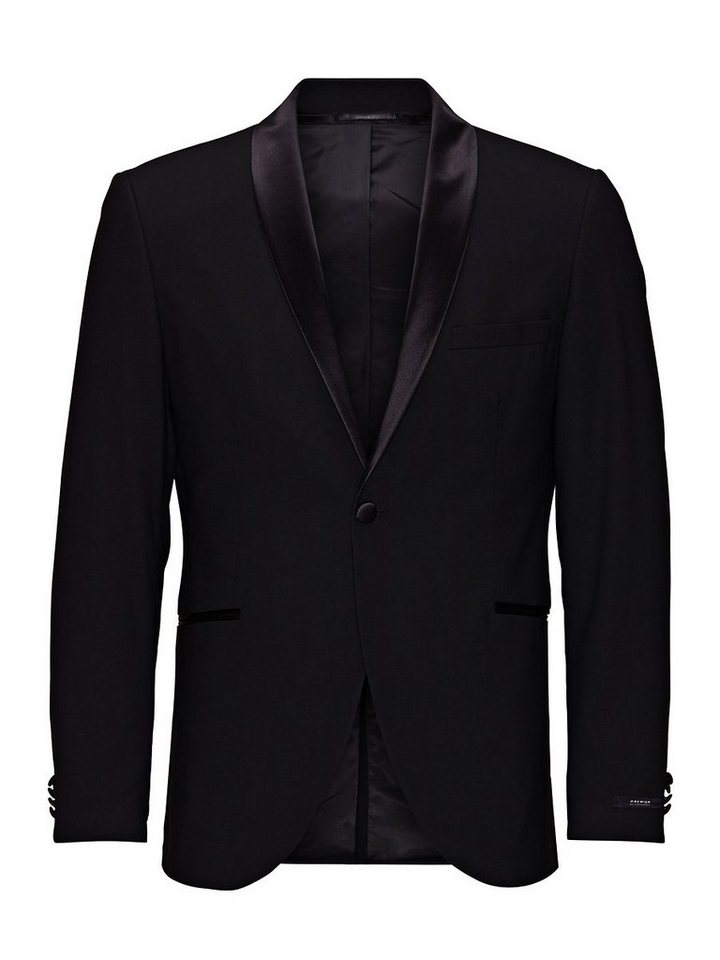 Jack & Jones Tux- Blazer in Black