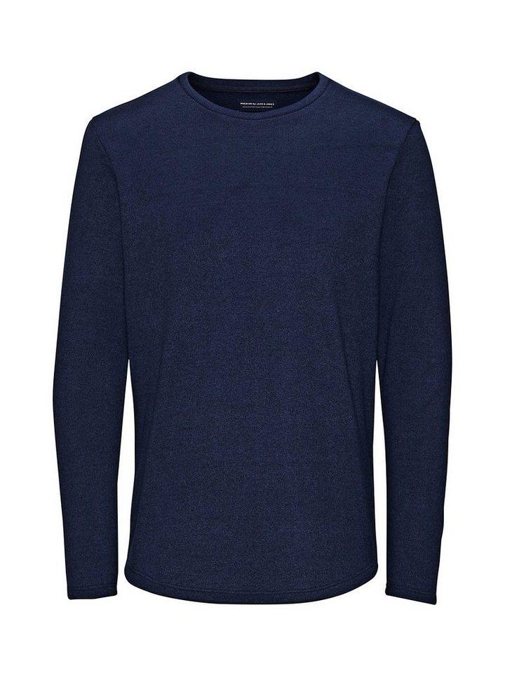 Jack & Jones Aufgefrischtes Crew-Neck- Sweatshirt in Navy Blazer