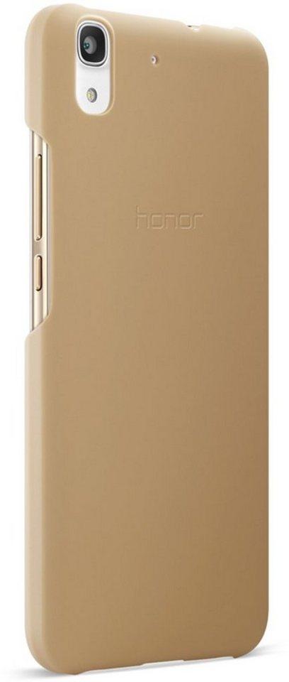 Huawei Handytasche »PC Cover für Y6« in Braun