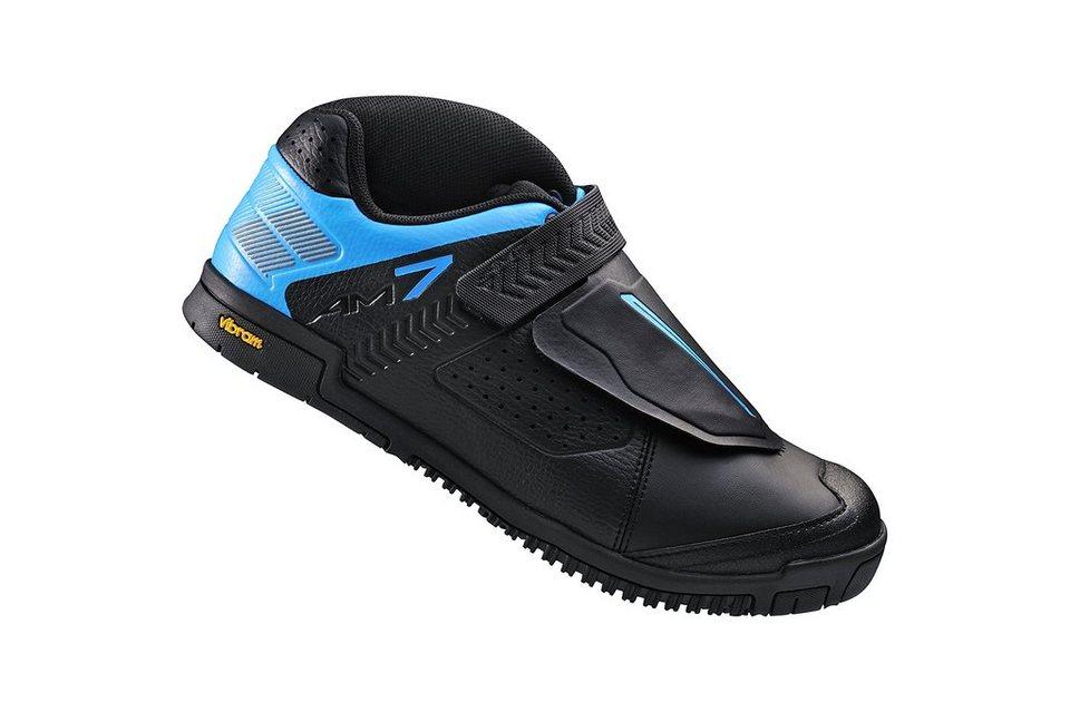 Shimano Fahrradschuhe »SH-AM7 Schuhe Unisex« in schwarz