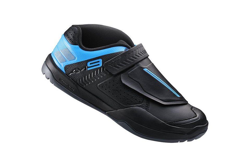 Shimano Fahrradschuhe »SH-AM9 Schuhe Unisex« in schwarz