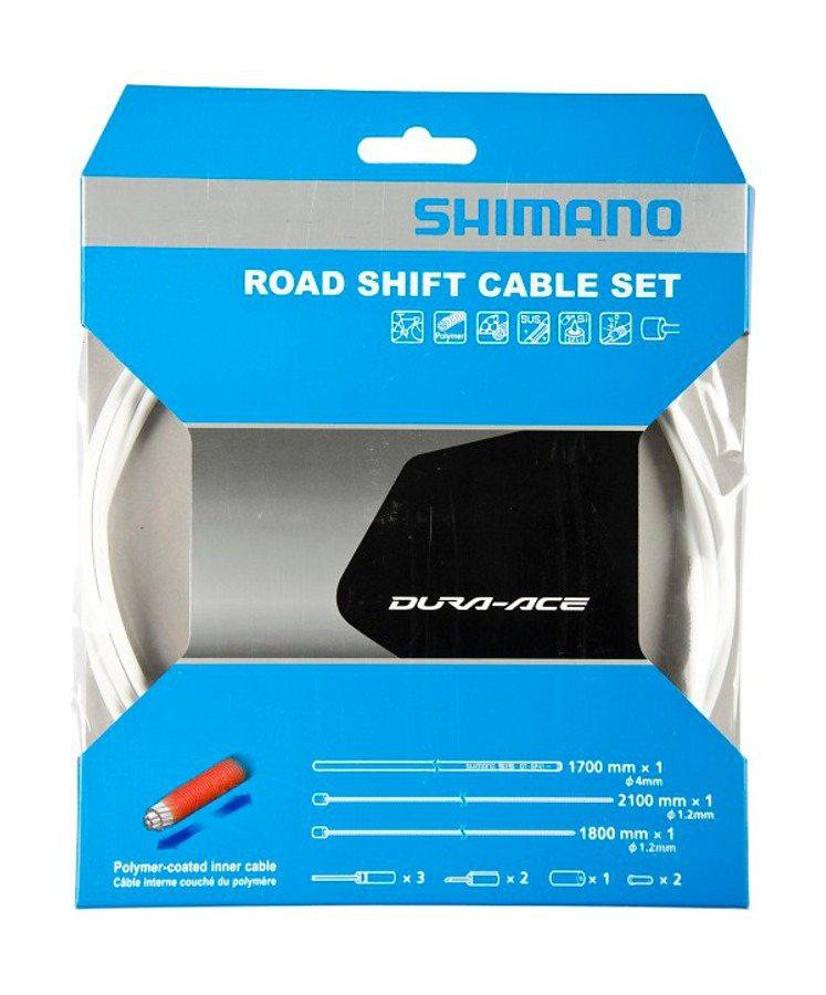 Shimano Schaltung »Dura-Ace Schaltzug-Set polymerbeschichtet«