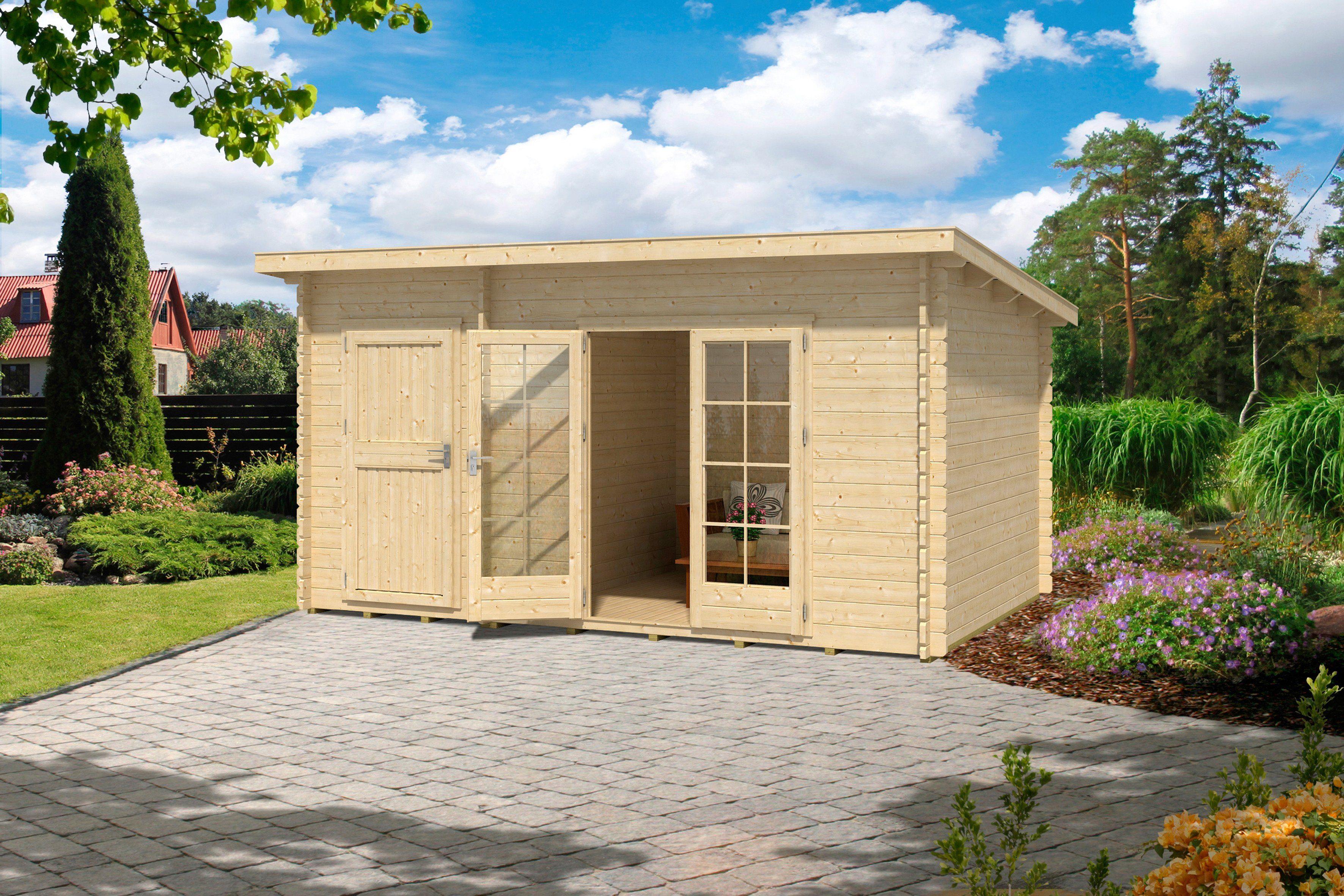 OUTDOOR LIFE PRODUCTS Gartenhaus »Belmont 2«, BxT: 430x280 cm, 34 mm