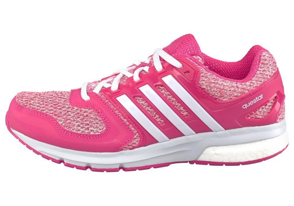 adidas Performance Questar Boost W Laufschuh in Pink