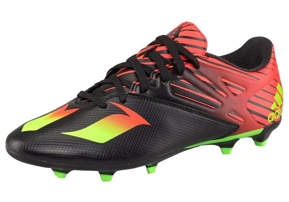 adidas Performance Messi 15.3 Fußballschuh in Schwarz-Rot