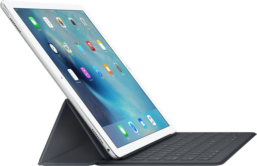 """Apple iPad Pro Smart Keyboard (12,9"""" Display Modelle) in grau"""