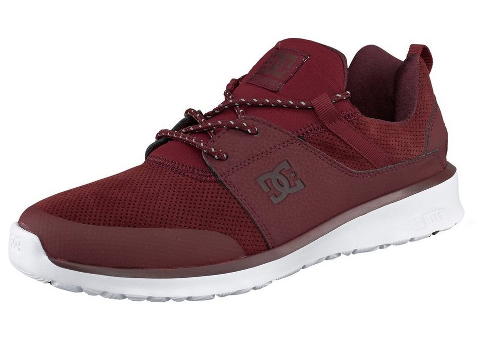 DC Shoes Heathrow Prestige Sneaker in Bordeaux-rot