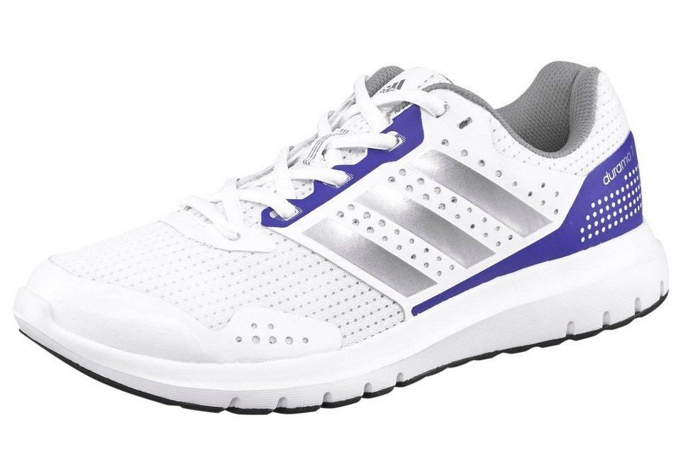 adidas Performance »Duramo 7 W« Laufschuh in weiß-silberfarben