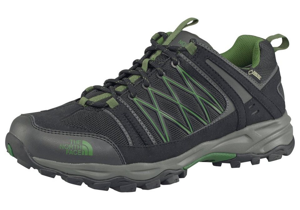The North Face Alteo Goretex M Outdoorschuh in Schwarz-Grün