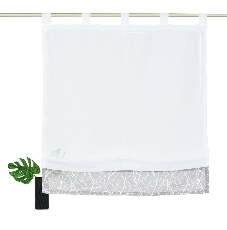 Schlaufenschal gardinenschals online kaufen otto for Schlafcouch 1 60 breit