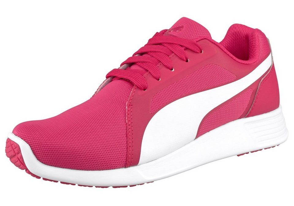 PUMA ST Trainer Evo Jr Sneaker in Pink-Weiß