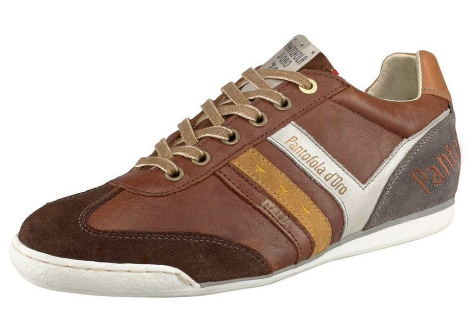Pantofola d´Oro Loreto Retro Low Sneaker in Cognac