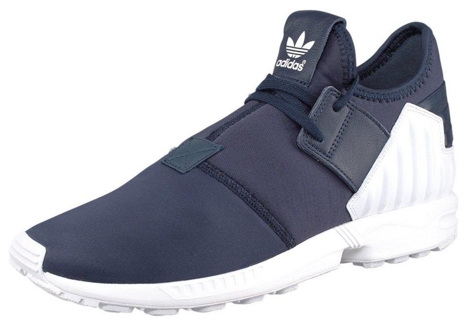 adidas Originals ZX Flux Plus Sneaker in Marine-Weiß