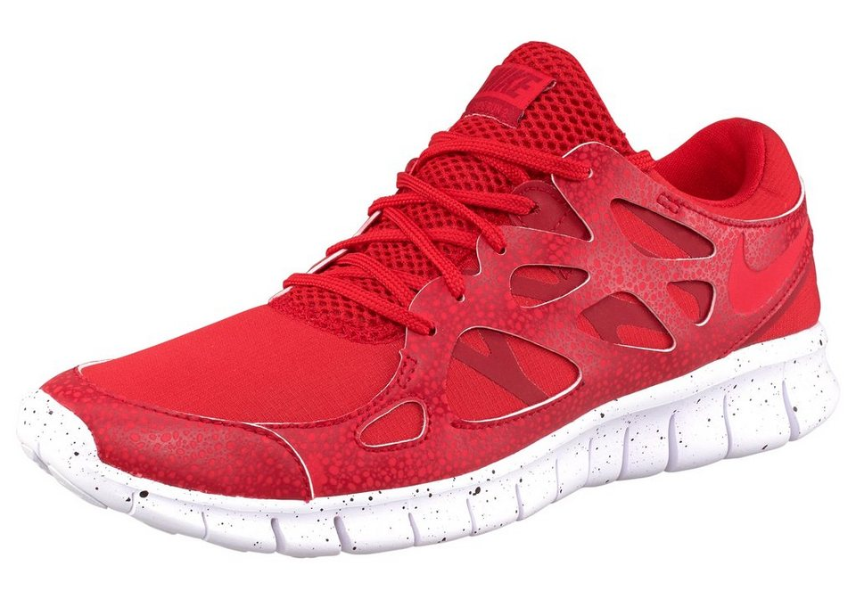Nike Free Run 2 Premium Sneaker in Rot