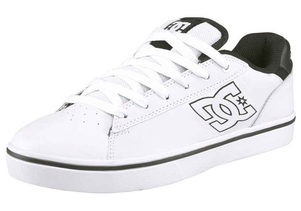 DC Shoes Notch Sneaker in Weiß-Schwarz