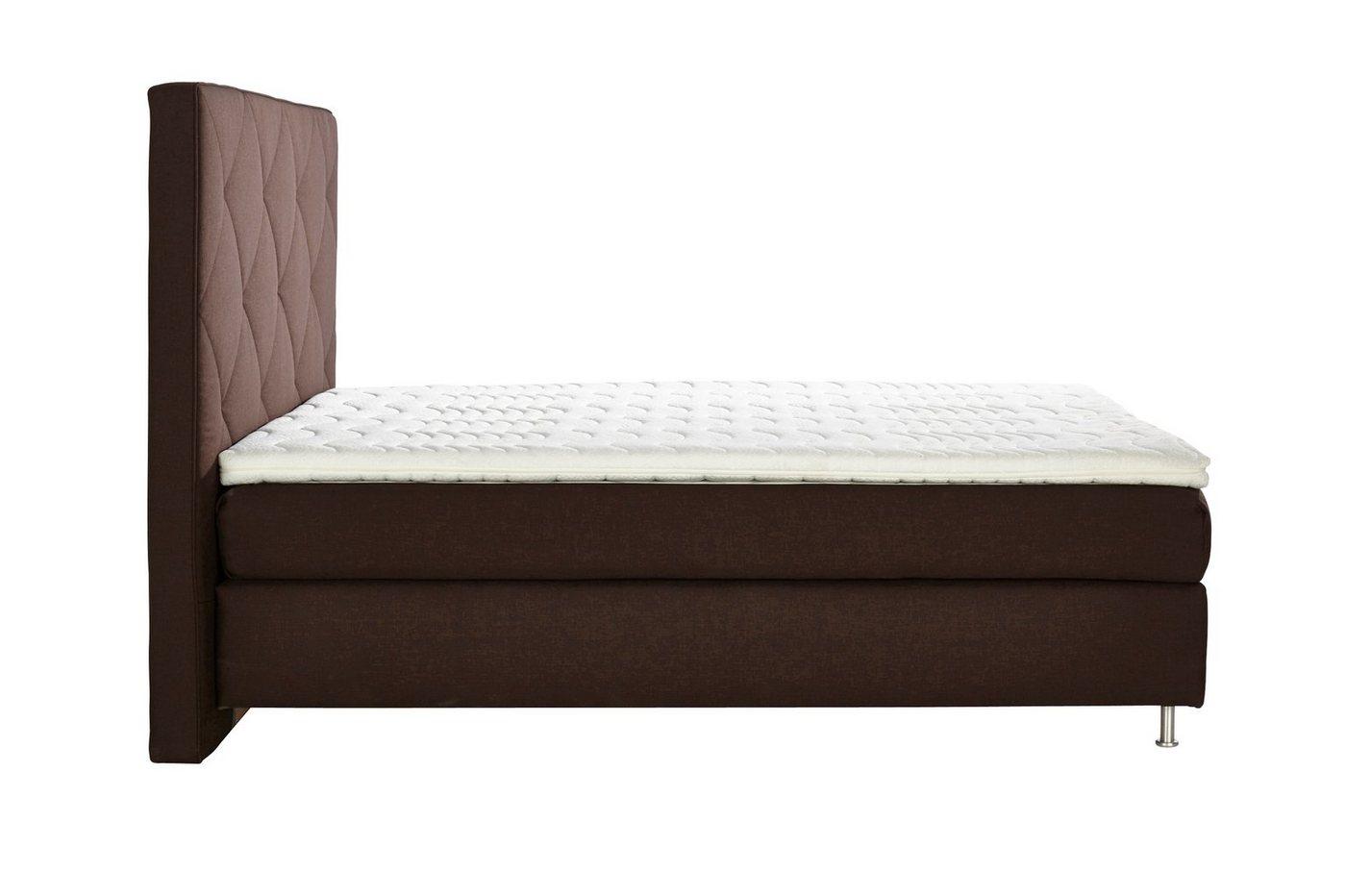ADA premium Boxspringbett »Oriental«, mit hohem Kopfteil in Rautenoptik, 3 Größen