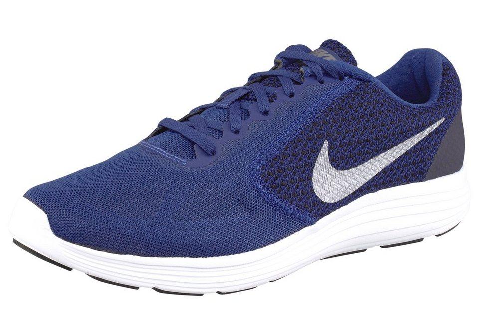 Nike »Revolution 3« Laufschuh in blau-silberfarben