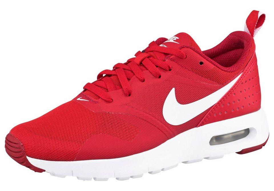 Nike »Air Max Tavas« Sneaker in rot-weiß