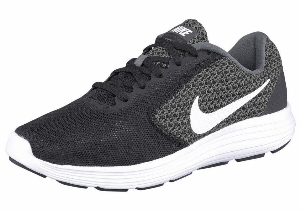 Nike »Revolution 3 Wmns« Laufschuh in schwarz-weiß