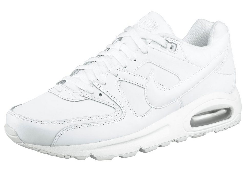 Nike »Air Max Command Leather« Sneaker in weiß-weiß