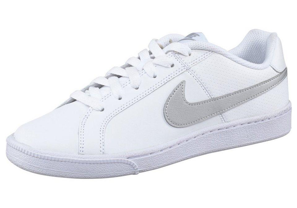 Nike »Court Royale Wmns« Sneaker in weiß-silberfarben
