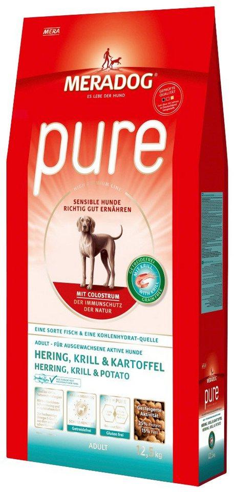 Hundetrockenfutter »Pure Adult Hering & Kartoffel«, 12,5 kg in braun