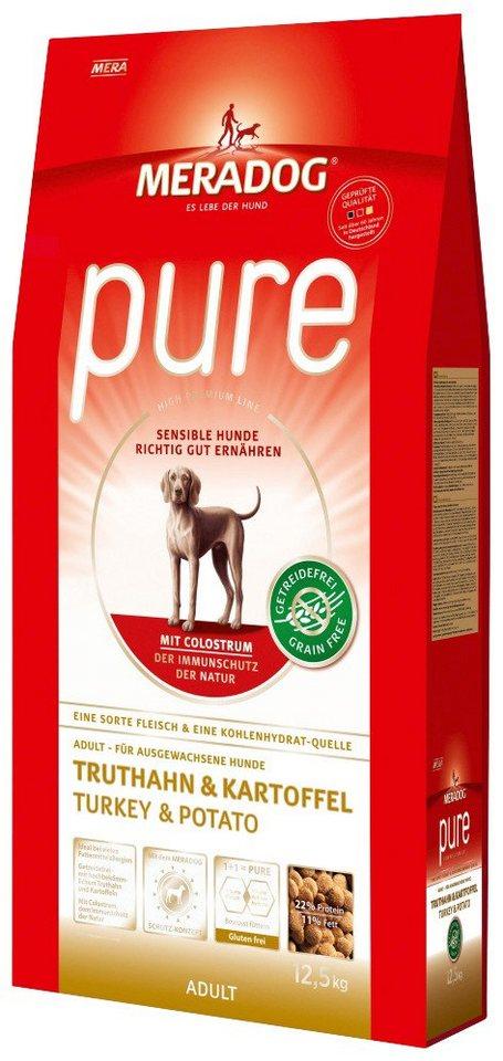 Hundetrockenfutter »Pure Truthahn & Kartoffel«, 12,5 kg in braun