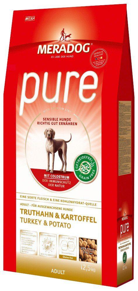Mera Dog Hundetrockenfutter »Pure Truthahn & Kartoffel«, 12,5 kg