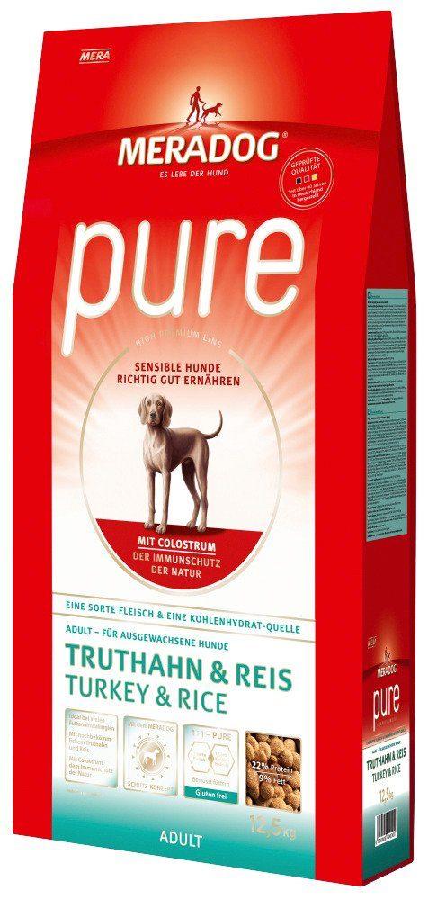 Mera Dog Hundetrockenfutter »Pure Truthahn & Reis«, 12,5 kg