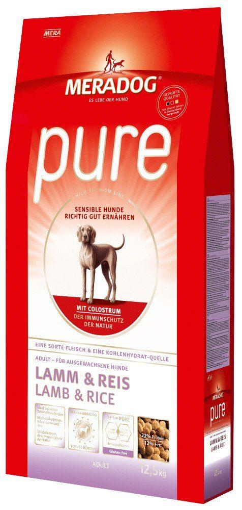 Hundetrockenfutter »Pure Lamm & Reis«, 12,5 kg