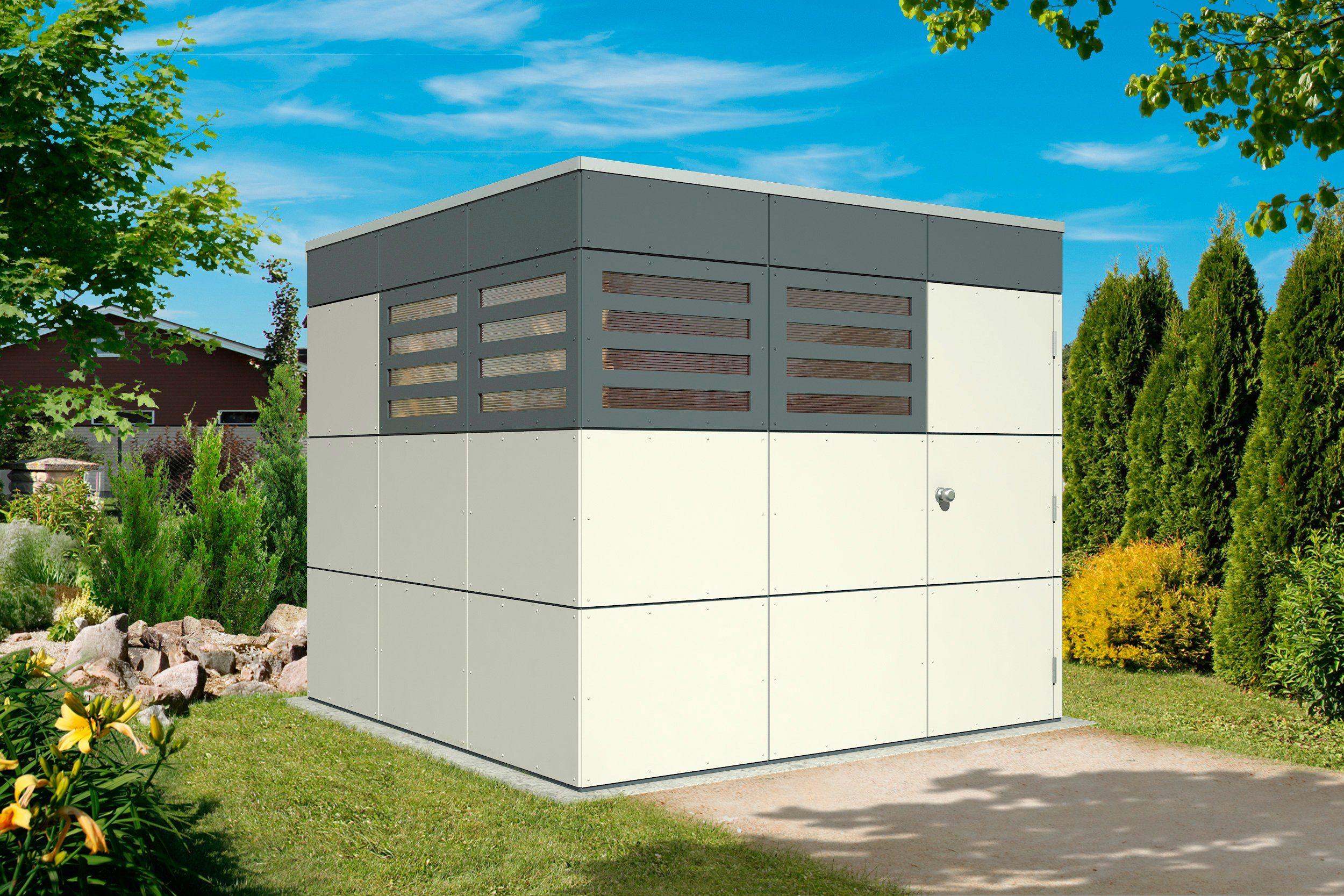 Gartenhaus »CrossCube Haus Sydney 3«, BxT: 253x253 cm