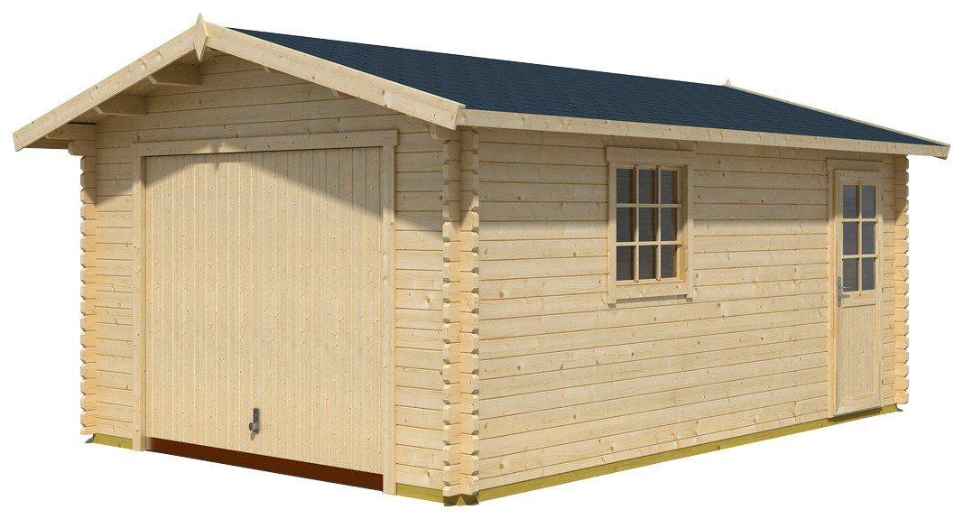 Einzel-Garage »Antigua«, BxT: 422x600 cm, 44 mm