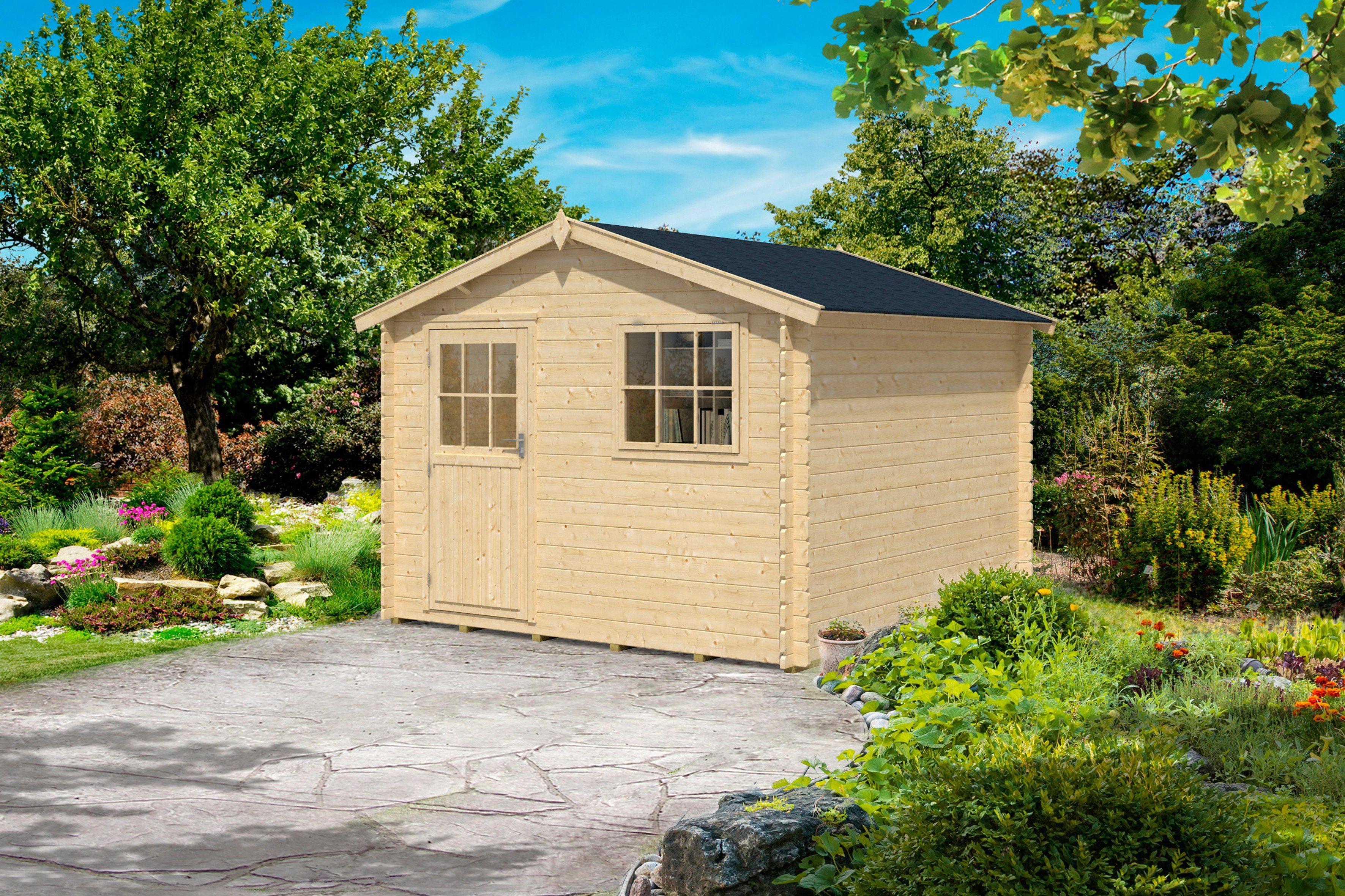 OUTDOOR LIFE PRODUCTS Gartenhaus »Mosel 3«, BxT: 300x300 cm, 28 mm