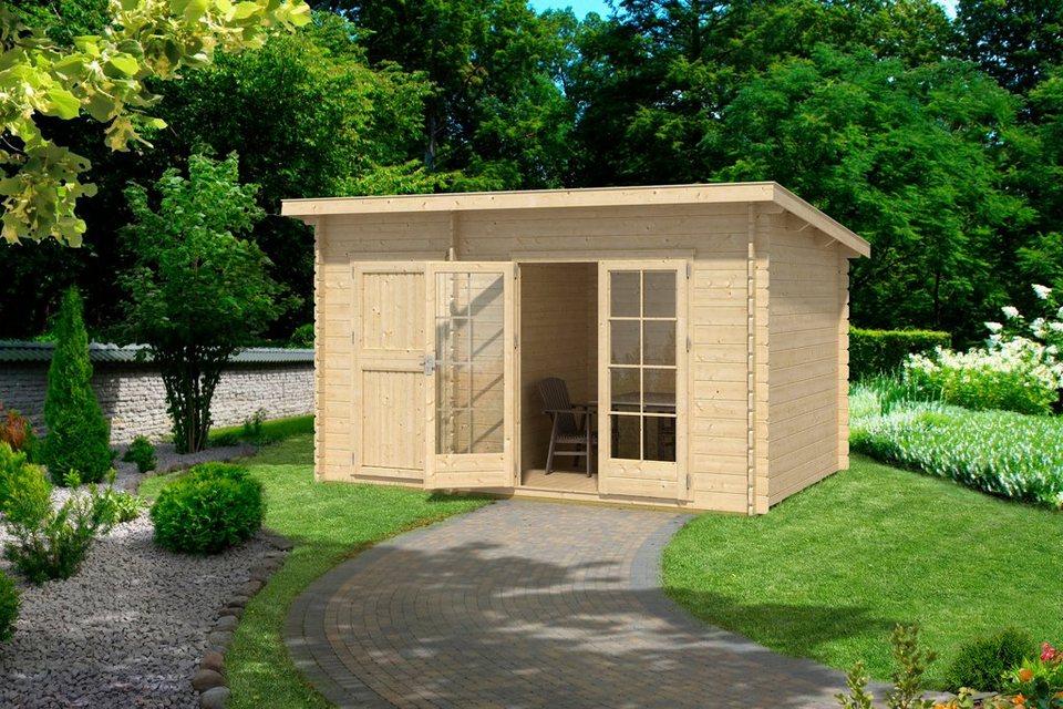 outdoor life products gartenhaus belmont 1 bxt 380x250 cm 28 mm online kaufen otto. Black Bedroom Furniture Sets. Home Design Ideas