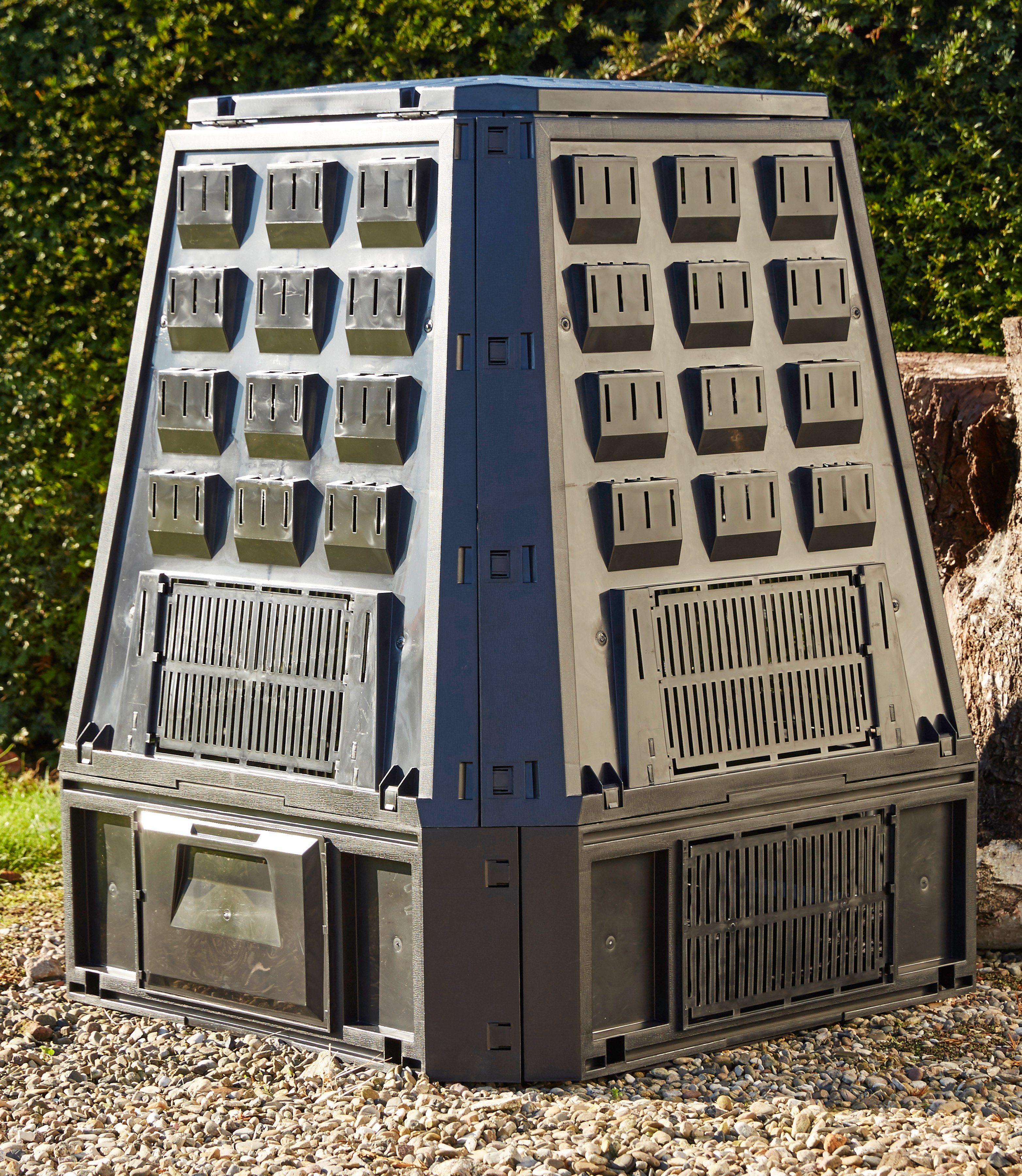 PROSPERPLAST Komposter »Evogreen«, BxTxH: 90x91x107 cm, 600 l