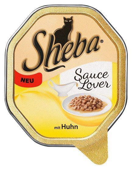 Set: Katzennassfutter »Sauce Lover mit Huhn«, 36 Schalen á 85 g in braun