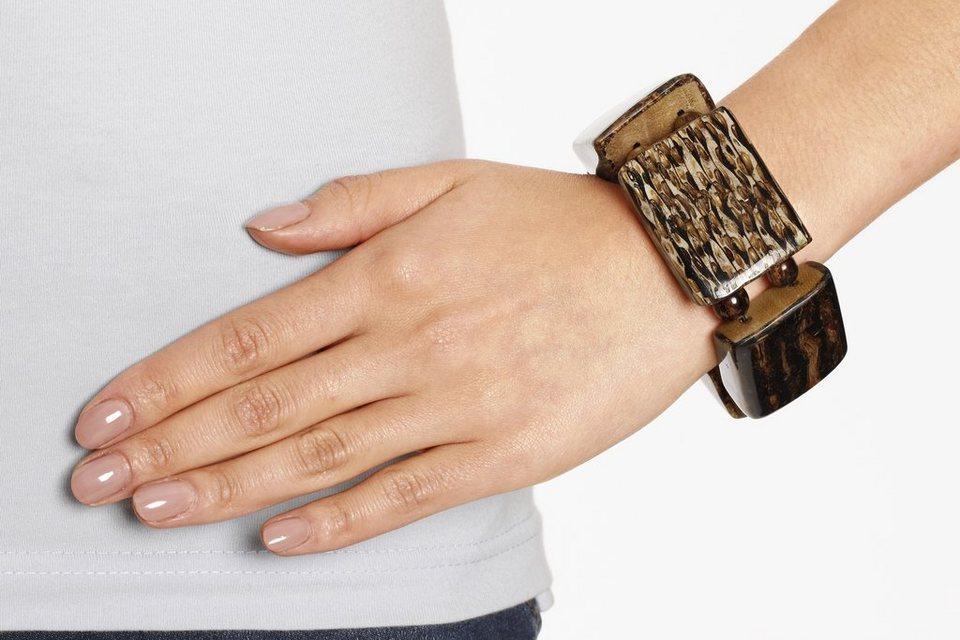 Armband in braun