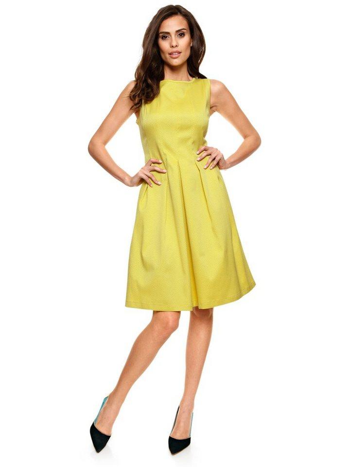 Prinzesskleid in gelb