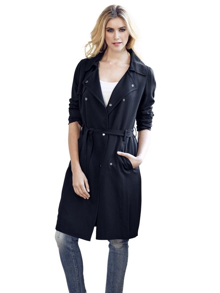 Trenchcoat in marine