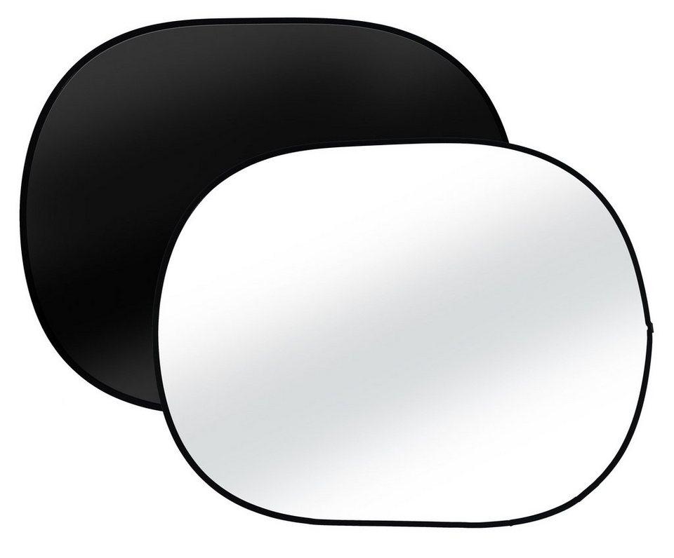 BRESSER Fotostudio »TR-3 Faltbarer Hintergrund schwarz/weiß 140x190cm«