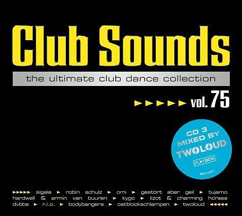 Audio CD »Diverse: Club Sounds Vol.75«