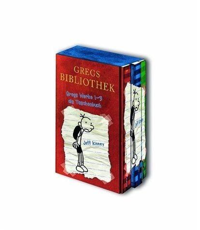 Broschiertes Buch »Gregs Bibliothek / Gregs Tagebuch Bd.1-3«