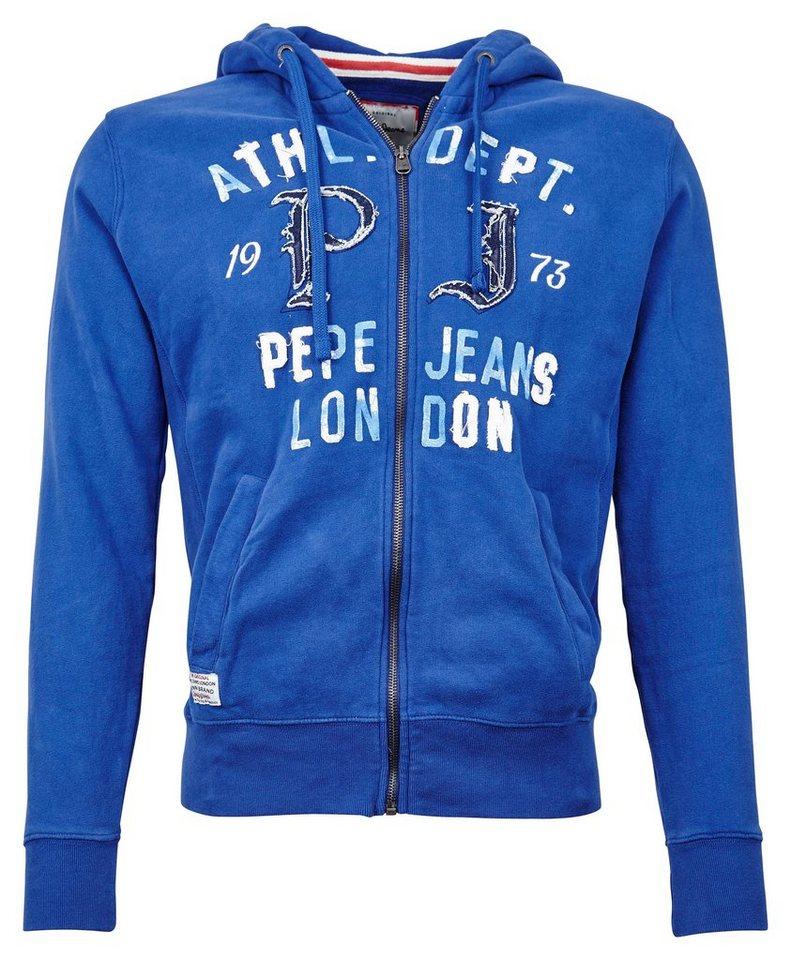 Pepe Jeans Sweartjacke »ACY« in blau